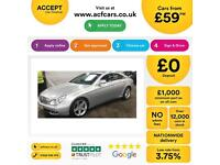 Mercedes-Benz CLS350 FROM £59 PER WEEK!