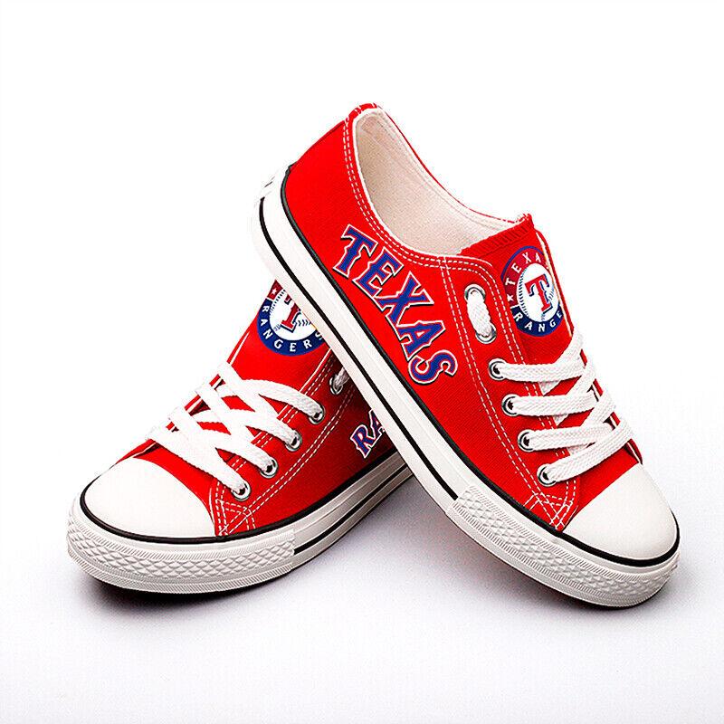 Texas Rangers Shoes Unisex Baseball Shoes MLB shoes Printed