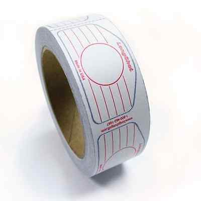 Longshot Golf Standard Universal Iron Roll Multi Impact Tape 250 Labels