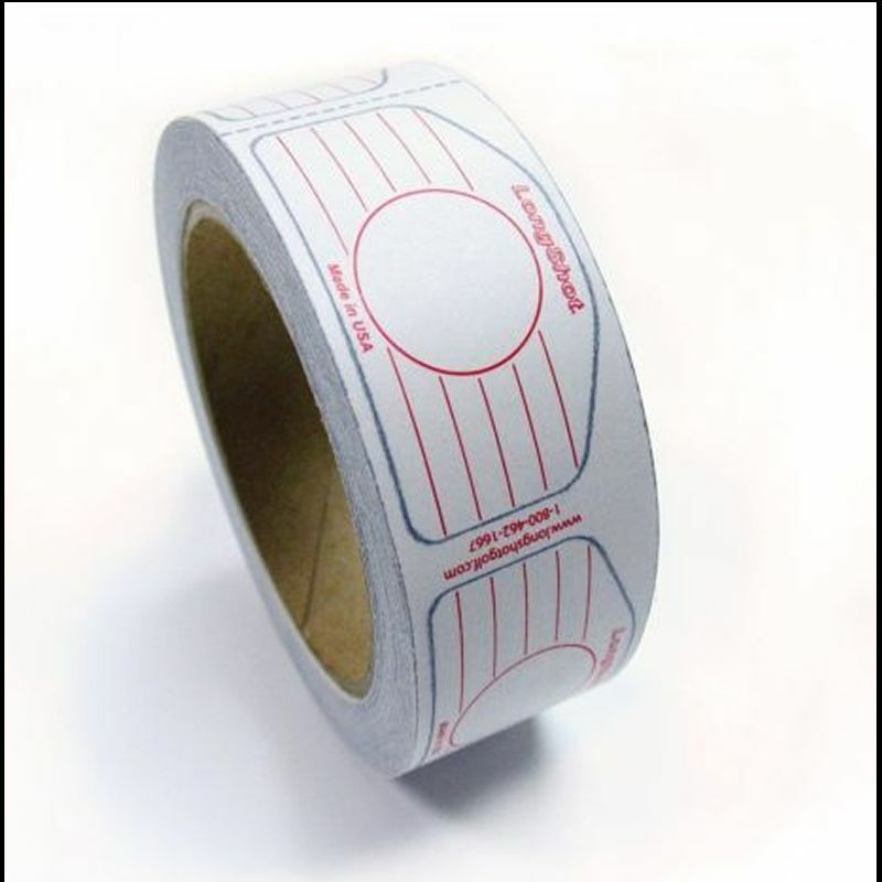 Longshot Golf Standard Universal Iron Roll Multi Impact Tape 250 Labels