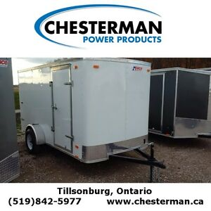 2016 Pace 6x12 Outback Cargo Trailer - Barn Doors London Ontario image 1