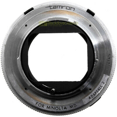 Adattatore x obiettivi Tamron Adaptall 2 per fotocamere Minolta MC-MD. Adapter