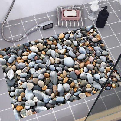3D Stone Floor Wall Sticker Decor Art Vinyl Home Kitchen Decal For Ceramics 2019