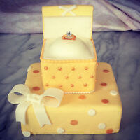 Special occassion fondant cakes