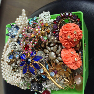 Vintage,Mostly Earrings,Many Signed,$5 Each