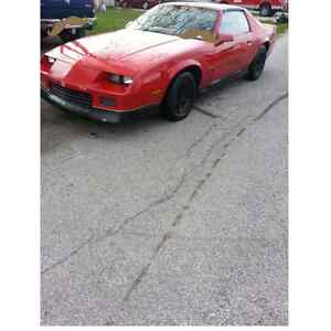 1988 camaro T TOPS etested