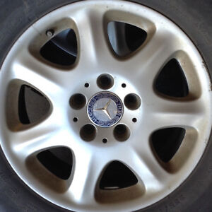 "16x7.5""  Genuine Mercedes rims"