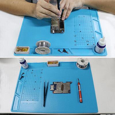 Newheat Gun Pad Soldering Station Soldering Repair Heat Insulation Silicone Mat