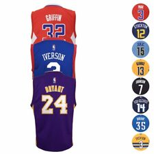 NBA Official Replica Basketball Player Jersey Collection by Adidas Boys SZ (4-7)