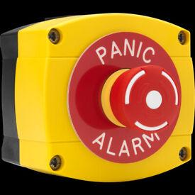 HEAVY DUTY PANIC ALARM OUTDOOR WATERPROOF PRESS BUTTON SWITCH E-STOP 0684-YB-PCA