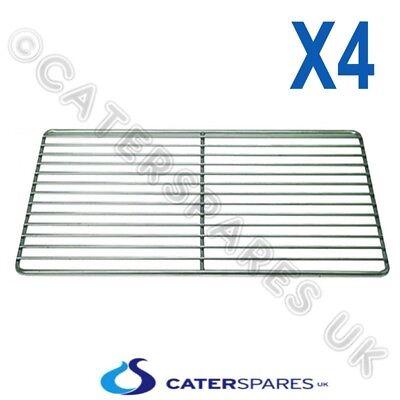 4x Stainless Steel Shelf Combi Oven Steamer Wire Grid Rack Lincat Rational Etc