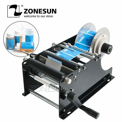 Zonesun Simple Manual Handy Round Wine Bottle Adhesive Sticker Label Applicator