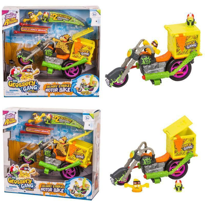 Grossery Gang Delivery Strike Motorbike