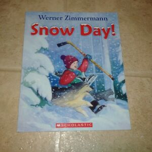 Werner Zimmermann ~~Snow Day~~~PAPERBACK