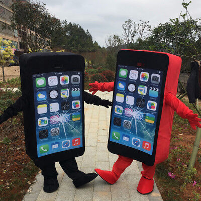 2019 Adult Adversting Cell Phone/Mobile Phone/Iphone Mascot Costume Cosplay - Cell Phone Costume