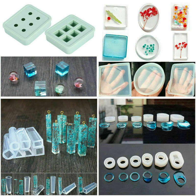 DIY Resin Casting Silicone Molds Epoxy Silicone Kit Jewelry