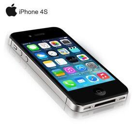 IPHONE 4S BLACK 16GB UNLOCKED