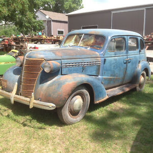 38 Chevy Master Deluxe running Restoration Project