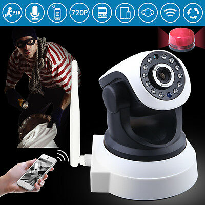 Smart Wireless Pan Tilt HD 720P Security Network CCTV IP Camera Indoor WIFI UK