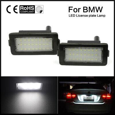 LED White License Plate Light Fit For BMW E38 7 Series 728 730 740 750 LAMP -