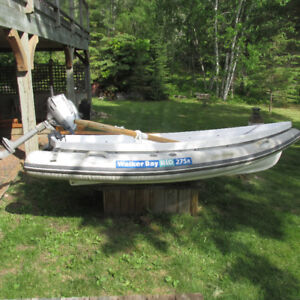 Walker Bay Dinghy and 2 HP Honda For Sale