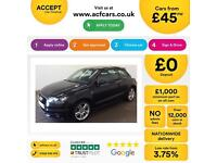 Audi A1 1.6TDI ( 105ps ) 2011MY S Line FROM £45 PER WEEK.