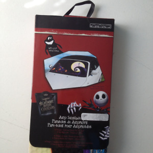 Nightmare Before Christmas Car Sun Shade Cover