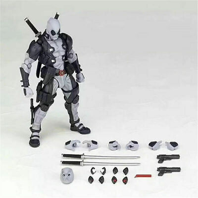 Kaiyodo Revoltech Amazing Yamaguchi X-Force Deadpool Figure Toy New in Box AAA