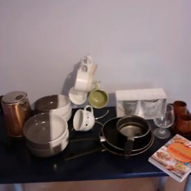 Kitchenware job lot