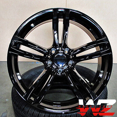 19 inch 437 Style Wheels Gloss Black Fits BMW 3 4 5 6 Series M3 M4 M5 M6 for sale  Shipping to Canada
