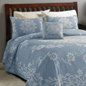 Folklore 3-Pc. Jacquard Bedspread Set - Queen, New