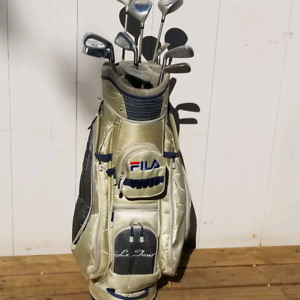Women's Fila Right Hand Golf Club Set