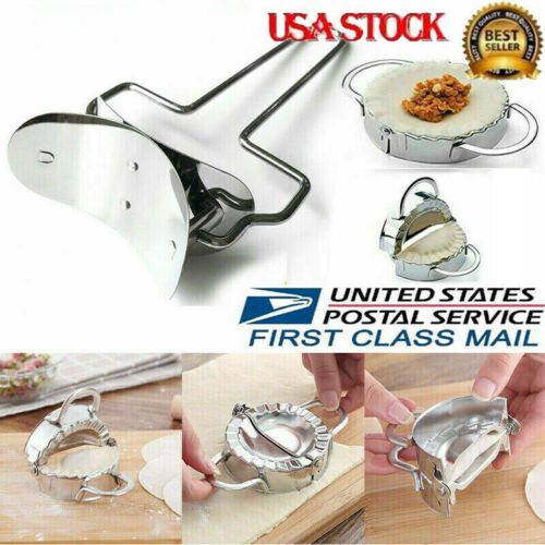 Easy Dumpling Maker Large/Small Set Stainless Steel Dough Pr