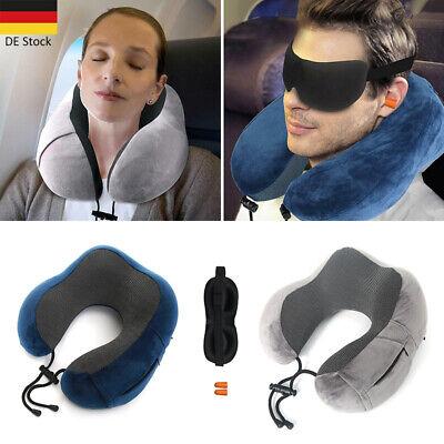 Nackenkissen Memory Schaum Flugzeug Reisekissen Auto Nackenhörnchen U pillow