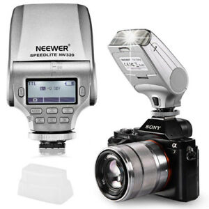 NEW Neewer NW320 TTL LCD Display LED-Assistive Focus Flash SONY