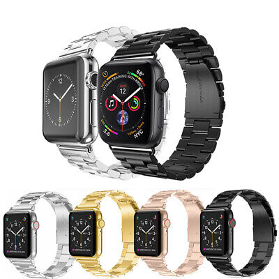 Stainless Steel For Apple Watch Series 5 4 3 2 Bracelet Strap Metal Band 40/44mm