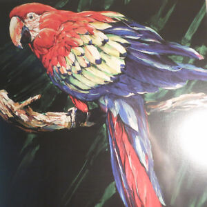 Signed Numbered Barry Barnett Tropic of Vedra Macaw Parrot Kitchener / Waterloo Kitchener Area image 3
