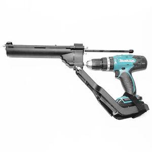 Silikonpresse Kartuschenpresse Adapter für Akkuschrauber