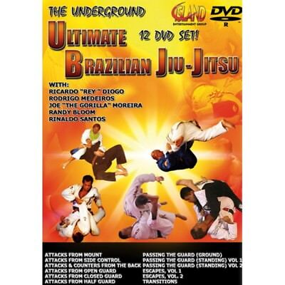 NEW! Ultimate Brazilian Jiu-Jitsu Instructional 12 DVD Set  -  Moreira, Medeiros