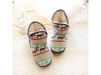 BRAND NEW slipper boots size 4