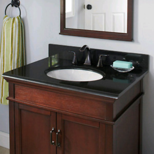 New in Box Vanity with sink