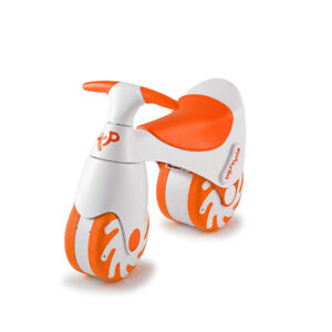TP Bouncycle Ride-On toddler bike orange and white