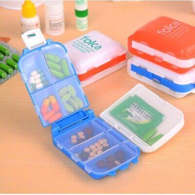 Weekly 7 Day Tablet Pill Box Holder Medicine Storage Organiz
