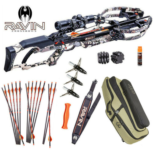 Ravin R10 Ultimate Package - Predator Camo - Complete Package Including Case!