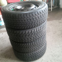 NEW Toyo Observe O2 Winter Tires on 5x114.3 Rims. 10/32nds Tread