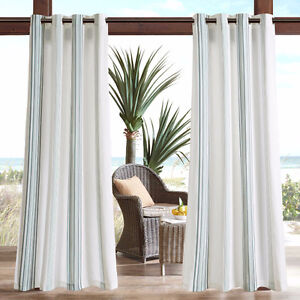 "Brand New in package 4 Outdoor Curtain Panels 95"" retails for 70"