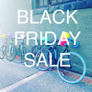 BLACK FRIDAY & Saturday Sale Mountain Bikes & Bikes $150+up