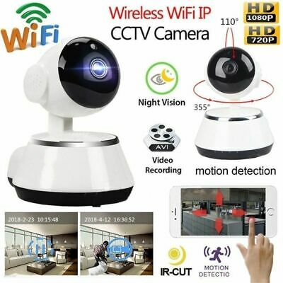 Wireless HD 720P WiFi Pan Baby Pet Monitor Network Security IP Camera IR Webcam