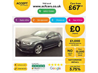 Audi A3 FROM £67 PER WEEK!