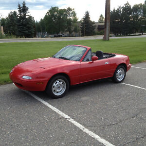 1990 Mazda Miata with only 109000 kn